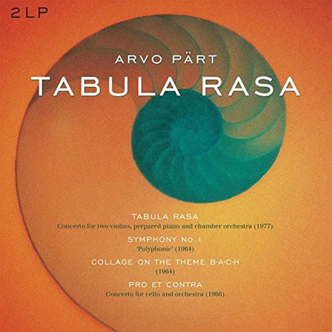 Part, Arvo - Tabula Rasa