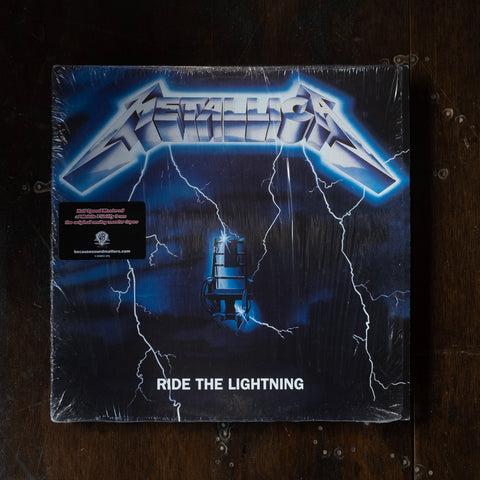 Metallica - Ride the Lightning (Pre-Loved)