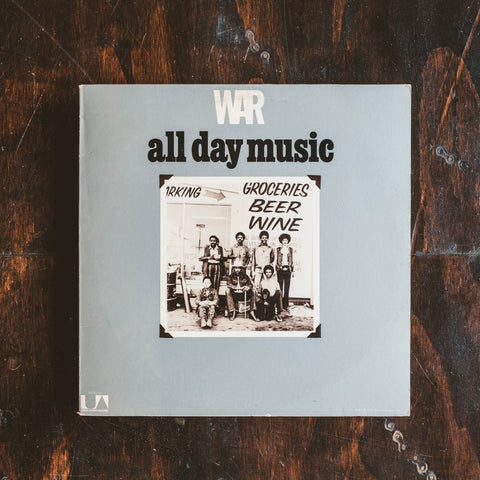 War - All Day Music (Pre-Loved)