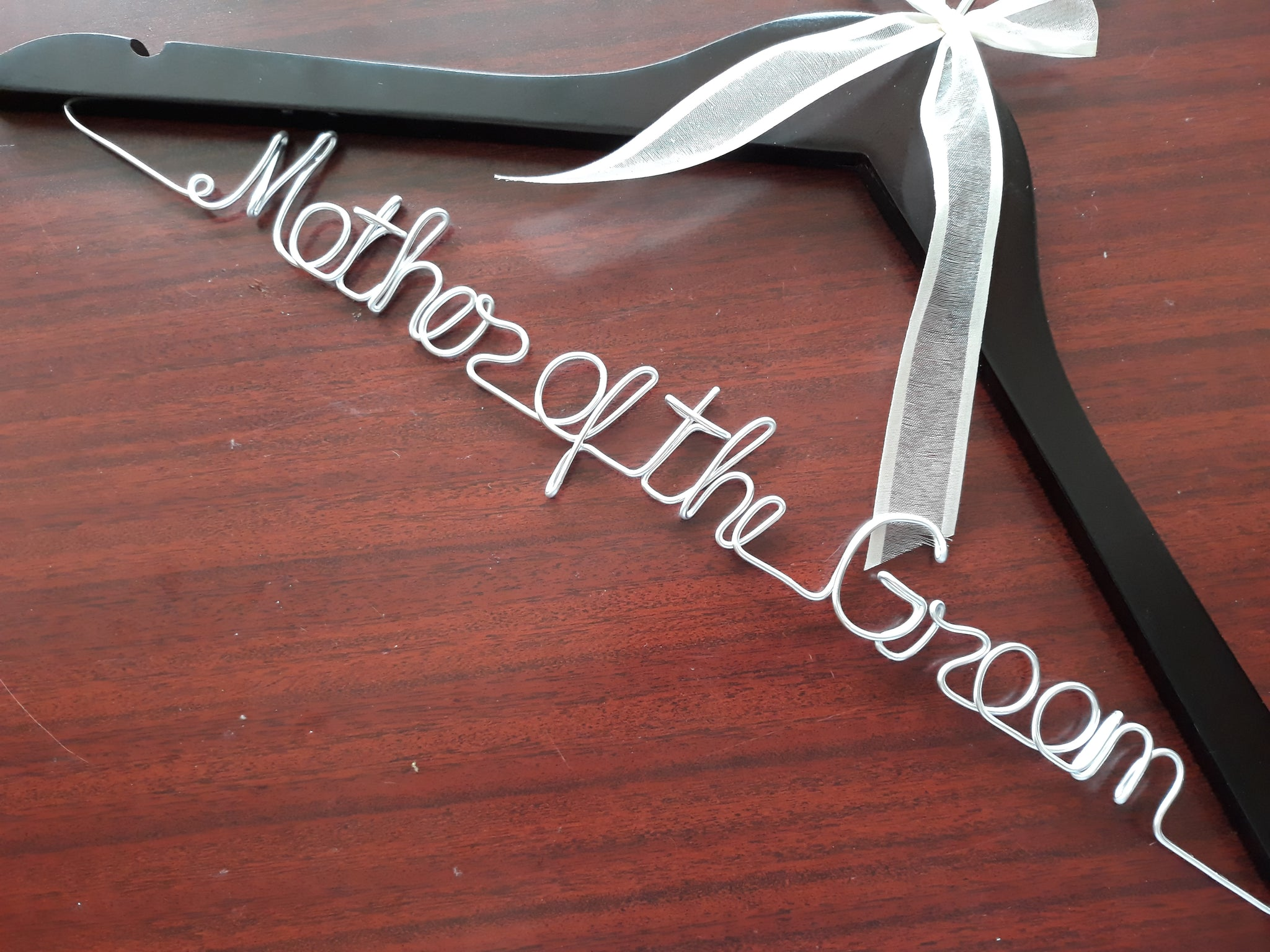 Bride hanger with date Personalized Wedding hanger bridal hanger custom bride gift wedding dress hanger bride hanger wedding hanger