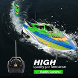 RC Boat Radio Control Racing Boat Electric Ship High Speed With Waterproof No Battery Version