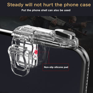 Trigger For PUBG Gamepad Mobile Control Shooting Game Fire Button L1 R1 for Android Iphone Joystick