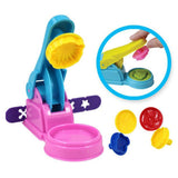 Color Play Dough Model Tool Toys Creative 3D Plasticine Tools Playdough Set Clay Moulds Deluxe Set