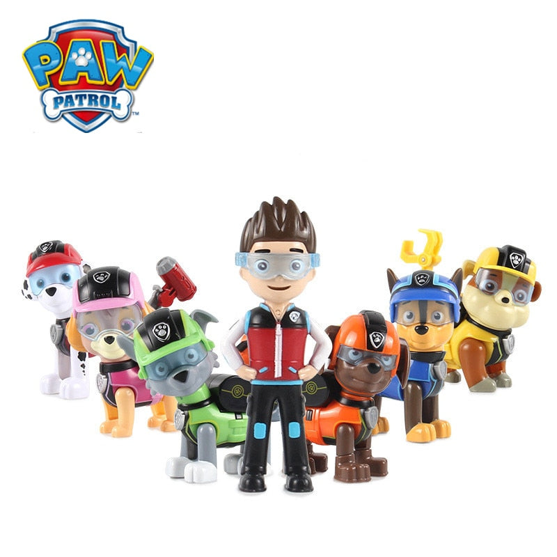 Paw Patrol Toys Dog Can Deformation Toy Captain Ryder Pow Patrol Psi Patrol Action Figures Toys