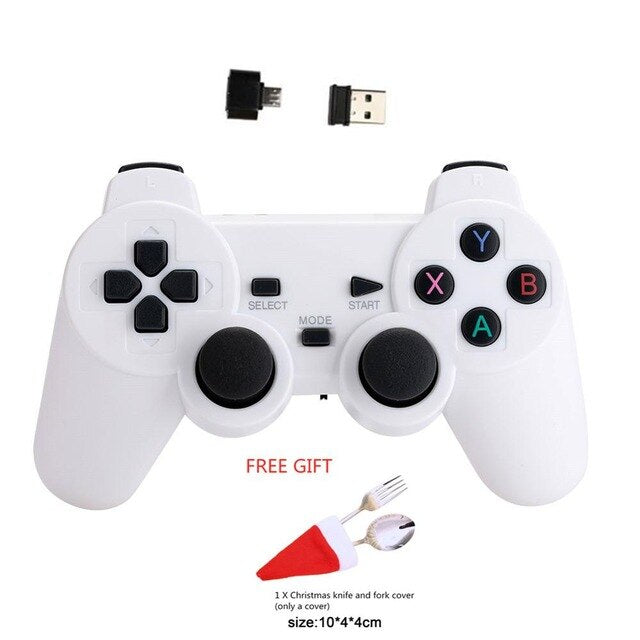 Cewaal 2.4G Wireless Gamepad For PS3 TV Box Joystick 2.4G Joypad Game Controller For Xiaomi Android
