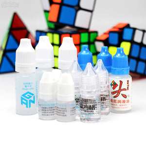 Magic Cube Lube For Moyu Qiyi Mofangge Gan Dayan 3ml 5ml 10ml M-lube Cube Oil Silicone Lubricants