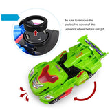Electric deformation Dinosaur Car Toy Creative Automatic Light Music LED Transform Vehicle Car