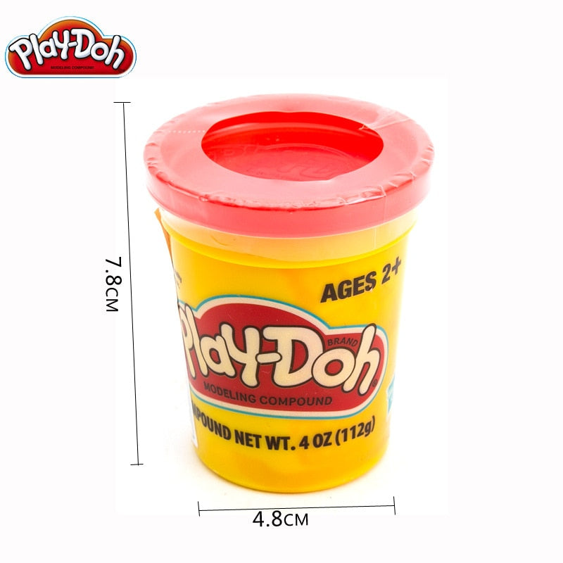 Hasbro Play Doh Toy DIY Plasticine Clay Play Dough Color Mud Educational DIY House Play Children Toys 36 Colors 1-randomly