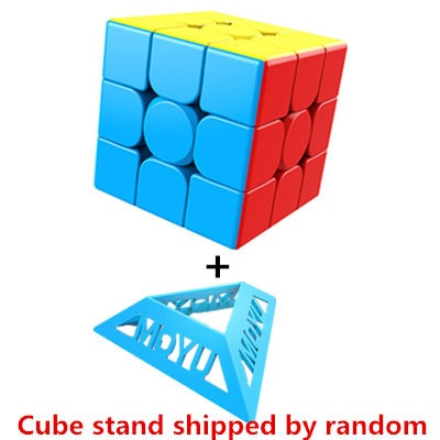 Moyu 3x3 Meilong Magic Cube Stickerless Puzzle Cubes Professional Speed Cubo Magico Educational Toys