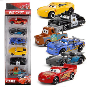 Disney Pixar Car 3 Lightning McQueen Jackson Storm Mack Uncle Truck 1:55 Diecast Metal Car Model