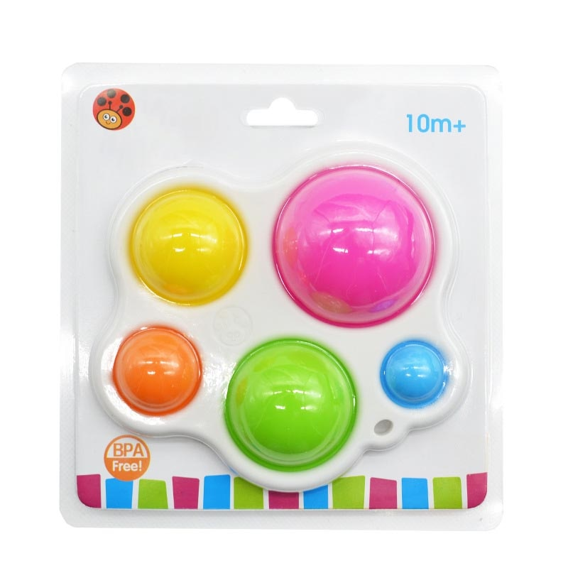 Baby Board Exercise Toys Rattle Puzzle Toys Colorful Intelligence Development Educational Board