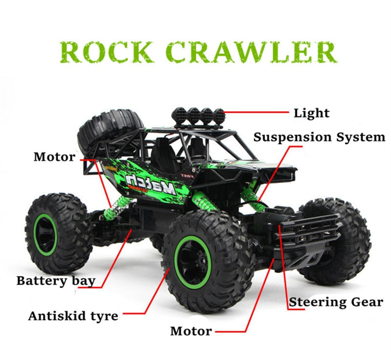 1:12 4WD RC Car Updated Version 2.4G Radio Control RC Car Toys Buggy 2020 High speed Trucks Off-Road Trucks Toys for Children