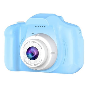 Children's Camera Waterproof 1080P HD Screen Camera Video 8 Million Pixel Kids Cartoon Cute Camera