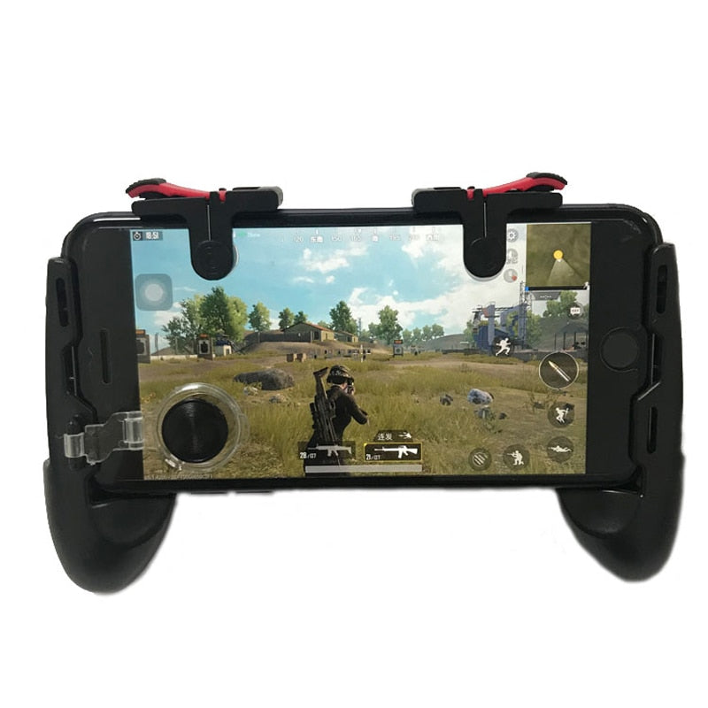 PUBG Moible Controller Gamepad Free Fire L1 R1 Triggers PUGB Mobile Game Pad Grip L1R1 Joystick for iPhone Android Phone