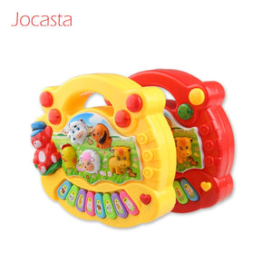 Farm Animal Sound Kids Piano Music Toy Musical Keyboard Piano Baby Playing Musical Instruments
