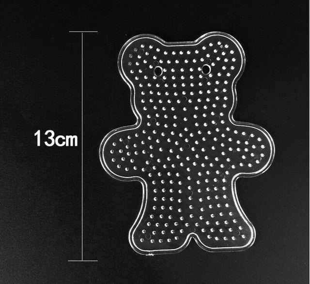 5mm Hama Beads template Toy DIY PUPUKOU Beads tool Educational Tangram Jigsaw Puzzle Template Toy