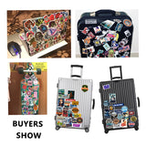 Neon Light Sticker Anime Animal Cute Decals Stickers to Laptop Phone Suitcase Guitar Fridge Car