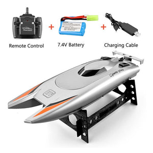2.4G Dual Boat Remote Control High Speed Boat Rc Boot Submarine Water Sports Radio-controlled Boat