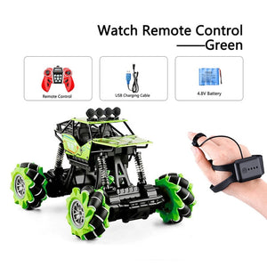 RC Drift Car 4wd Watch Control Gesture Induction Remote Control Car Radio-controlled Stunt Car