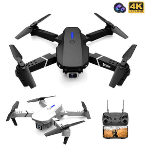 Fold FPV Drone Quadcopter with Camera Drone Professional 4K Drone Height Hold Drone 4K Dual Toy