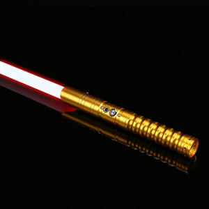 TXQSABER Cosplay RGB Lightsaber Metal Handle Heavy Dueling 12 Color LED 6 Sound Fons FOC Blaster