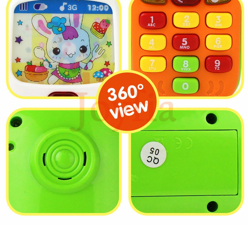 Electronic Toy Phone Baby Mobile Phone Educational Learning Toys Music Machine Toy For Children