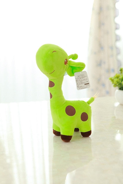 Baby Toys Rainbow Giraffe Plush Toys Dolls For Kids Brinquedos Kawaii Gift For Baby Christmas Gift