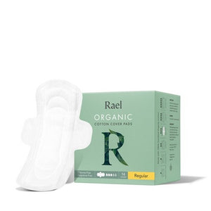 Rael Organic Pads - Regular, 14 pack
