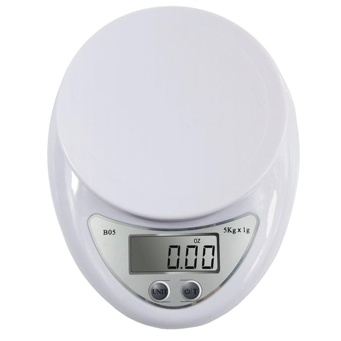 Fagoozon 5kg/1g 1kg/0.1g Portable Digital Scale LED Electronic Scales Postal Food Measuring Weight Kitchen LED Electronic Scales