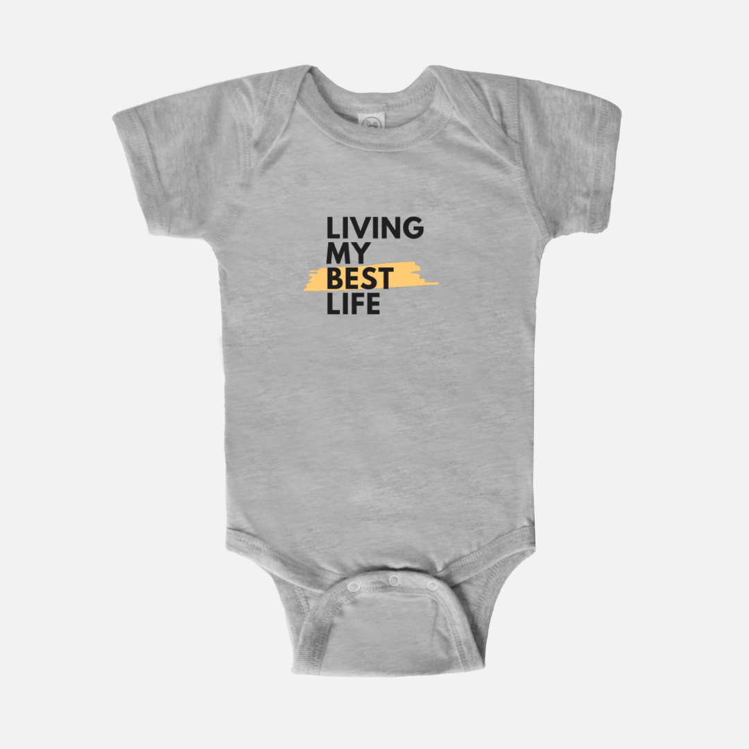Living My Best Life Onesie