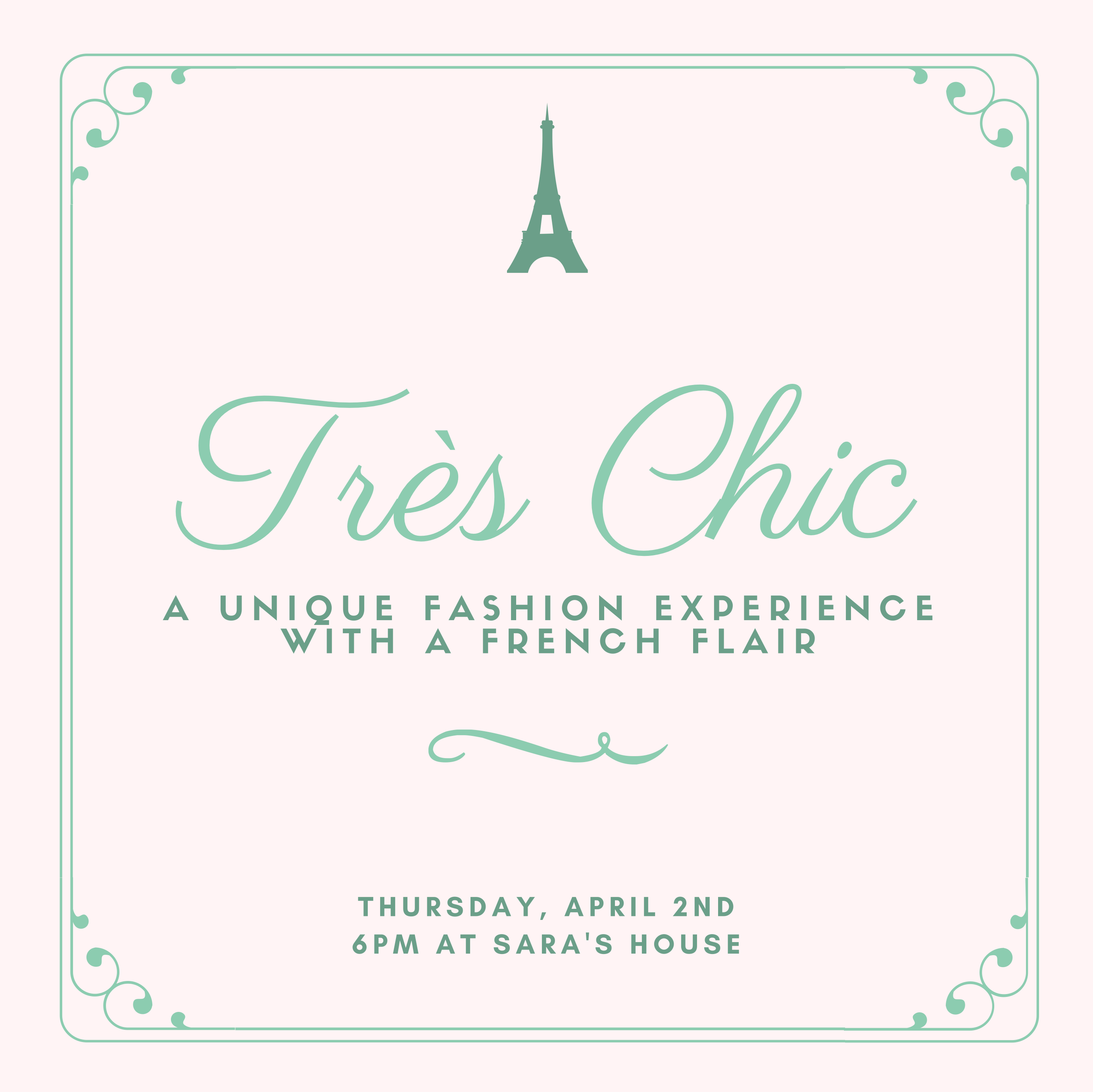 Très Chic Fashion Event
