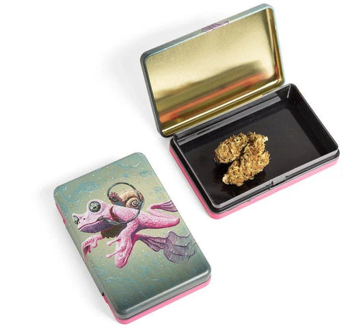Cannabis frog stash box