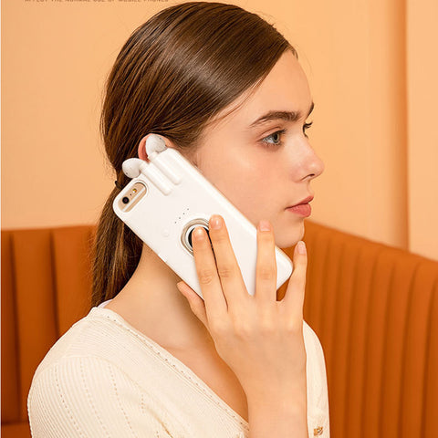 Air Pod Charging iPhone Case. LuxMo Shop Accessories/Gadgets. Free Worldwide Shipping.