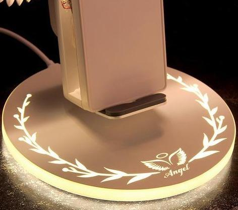 Angel Wings Wireless Charger for iPhone/Smartphones/Android/Qi - 10W - LuxMo