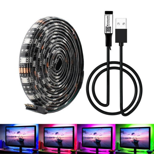 LED Waterproof Light Strips USB/Bluetooth Controlled 1-5M - LuxMo