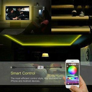 LED Waterproof Light Strips USB/Bluetooth Controlled 2-5M - LuxMo