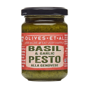 BASIL & GARLIC PESTO (135g JAR)