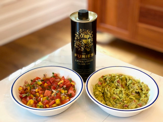 Guacamole and Salsa Duo