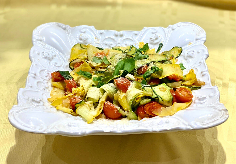 Zucchini and Yellow Squash Ribbons