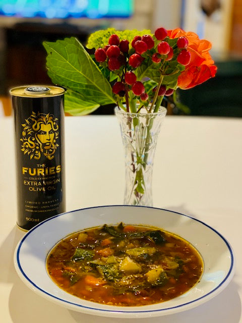 Ribollita (a fancy name for gluten free Minestrone Soup)