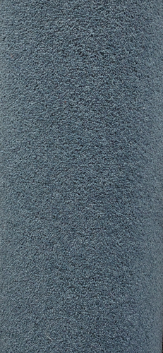 Teal Blue Wool Rich 3.99 x 4.8 m