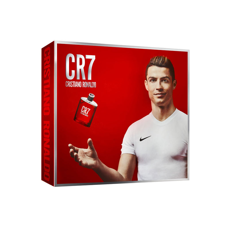 <span>CR7</span> Eau de Toilette & Bath Gift Set (Shoebox)