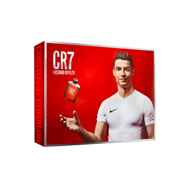<span>CR7</span> Eau de Toilette & Body Gift Set (Shoebox)