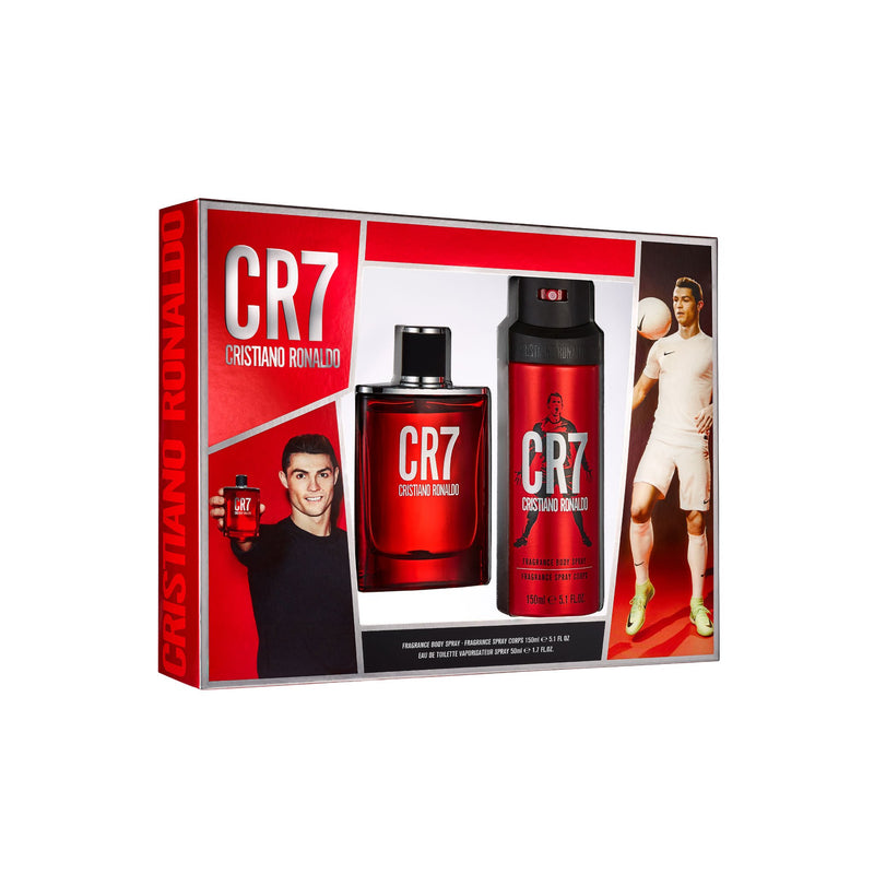 <span>CR7</span> Eau de Toilette & Body Gift Set (Windowbox)