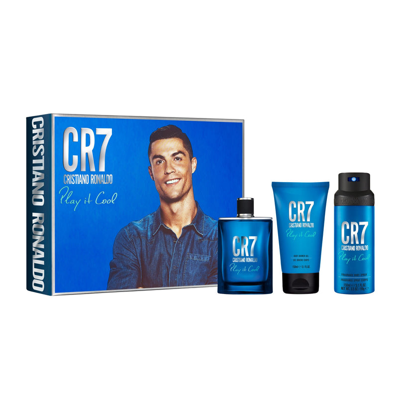 CR7 Play It Cool Eau de Toilette & Body Gift Set (Shoebox)