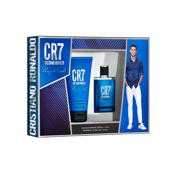 <span>CR7 Play It Cool</span> Eau de Toilette & Body Gift Set (Windowbox)