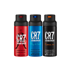 CR7 Body Spray Trio Set