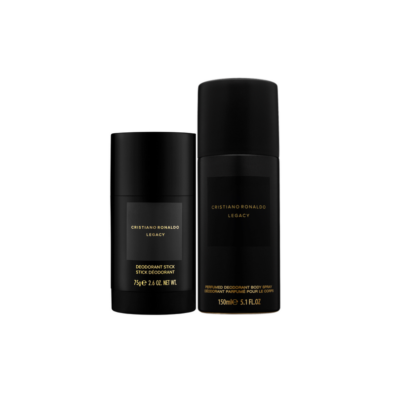 Cristiano Ronaldo Legacy Body Spray and Deodorant Stick Duo Set