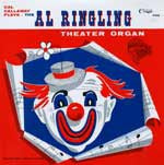 Cal Callaway Plays the Al Ringling Theatre Organ  KCD 1000