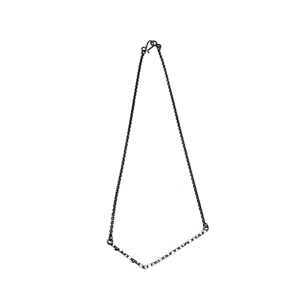 Angle Cube Necklace